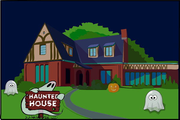 haunted house Van Sant Law