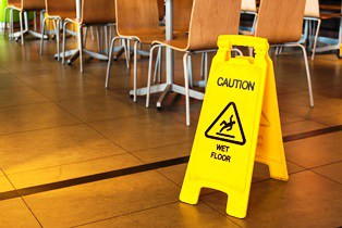 liability after slip and fall in restaurant Van Sant Law