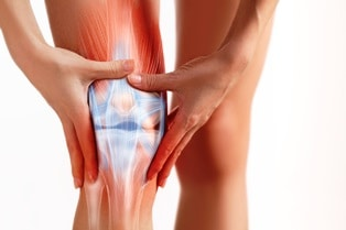 knee and leg injuries and workers