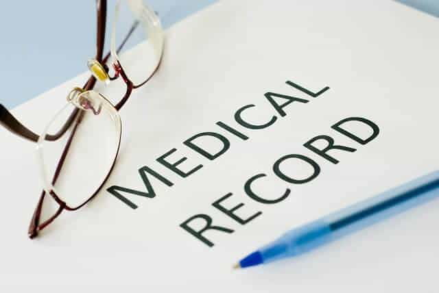 personal injury medical records