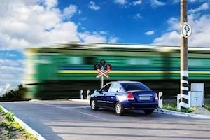 Car and Train Collisions