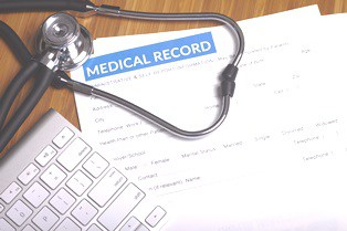 medical records release to insurance company after motorcycle crash