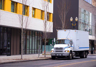 delivery or box truck accident claims Van Sant Law